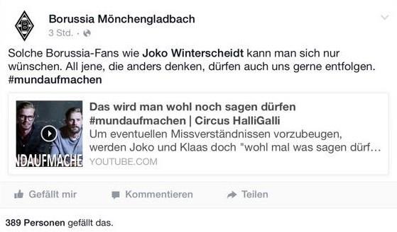 Borussia gegen Rassismus